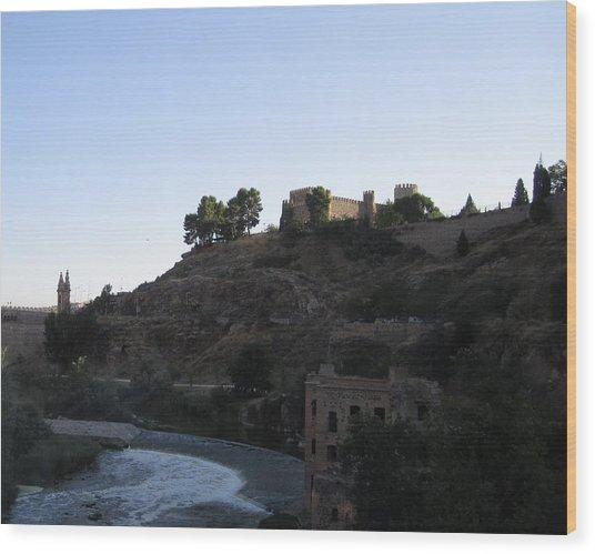 Toledo Castle Wood Print