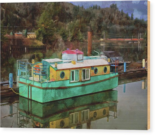 Wood Print featuring the photograph Toledo Showboat by Thom Zehrfeld