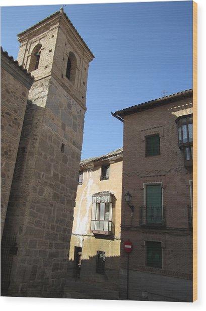 Toledo Vintage Buildings II Wood Print