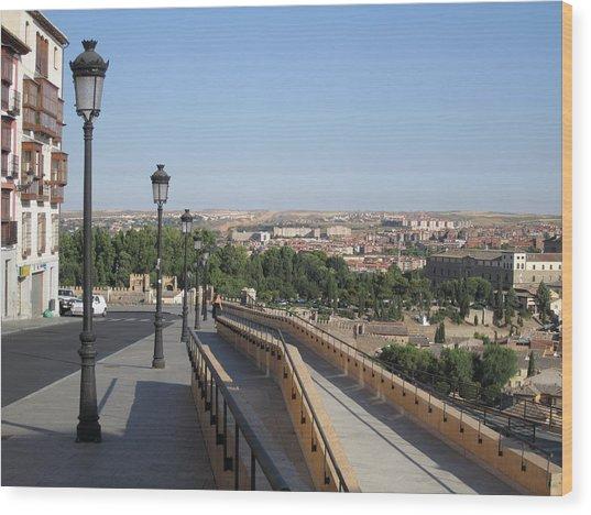 Toledo Walkway II Wood Print