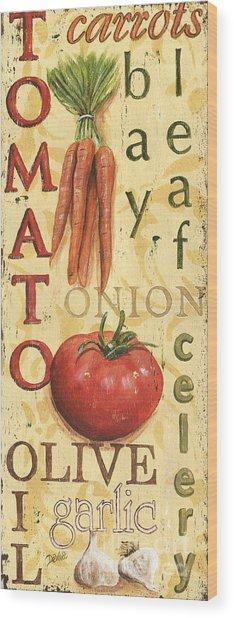 Tomato Soup Wood Print