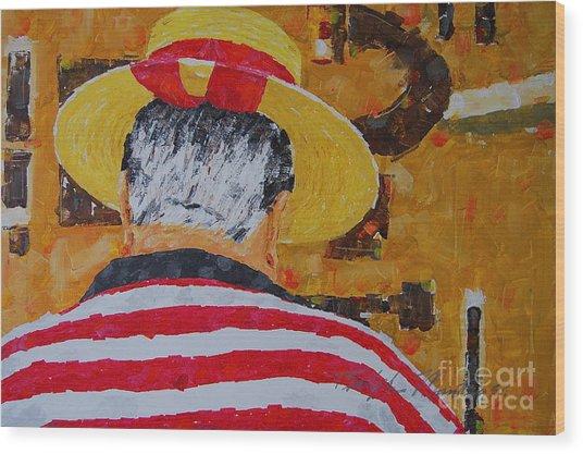 Tony Lover Of The Arts Wood Print