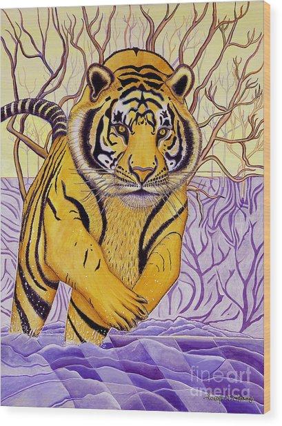 Tony Tiger Wood Print
