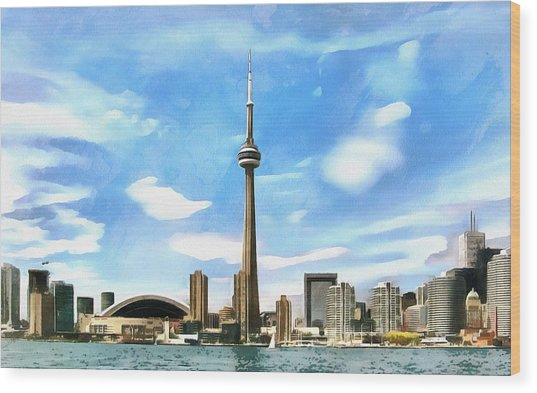 Toronto Waterfront - Canada Wood Print