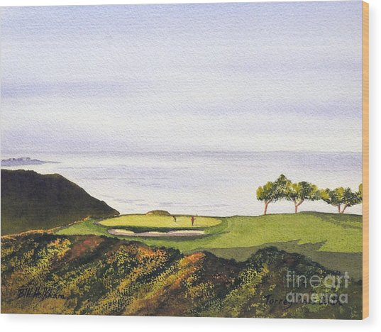 Torrey Pines South Golf Course Wood Print