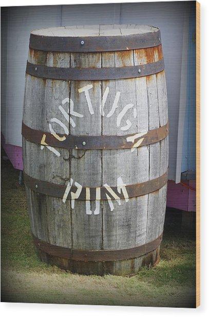 Tortuga Rum Wood Print