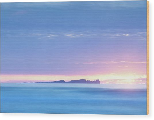 Tory Island Sunset Wood Print by Peter McCabe