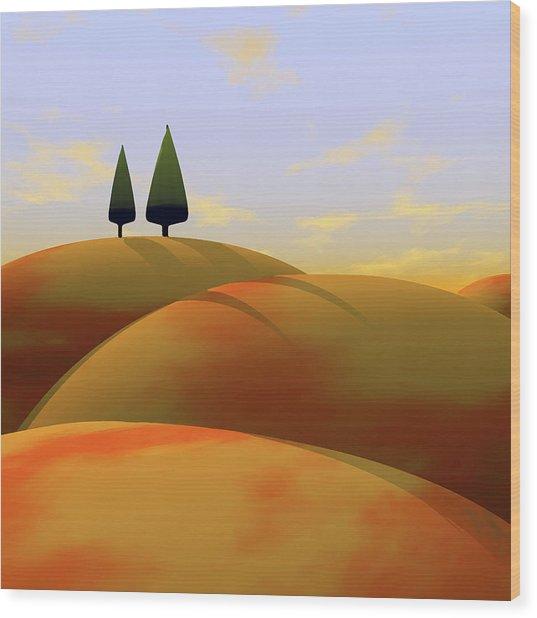Toscana 1 Wood Print