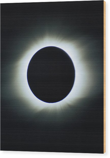 Total Solar Eclipse - Aruba 1998 Wood Print
