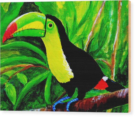 Toucan Sam Wood Print