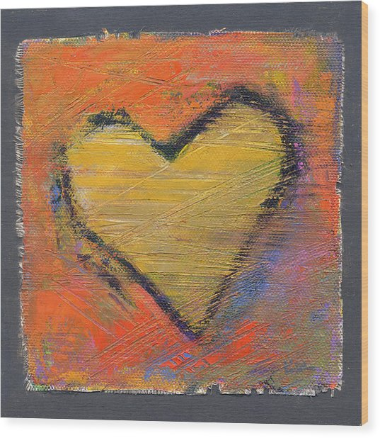Wood Print featuring the photograph Love 8 by Konnie Kim