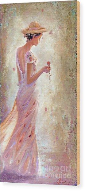 Toujours De Fleurs Wood Print