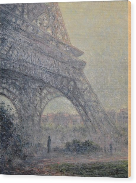 Paris , Tour De Eiffel  Wood Print
