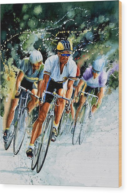 Tour De Force Wood Print