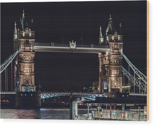 Tower Bridge 4 Wood Print