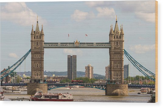 Tower Bridge C Wood Print
