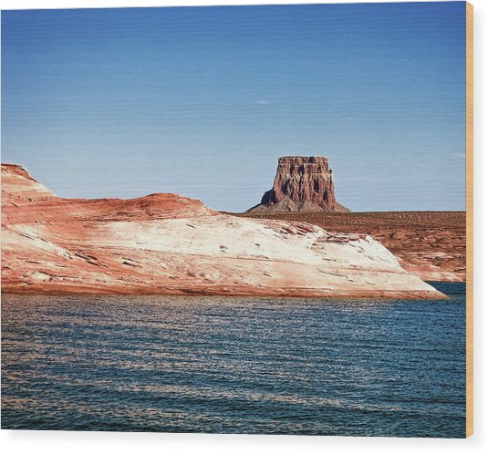 Tower Butte Wood Print