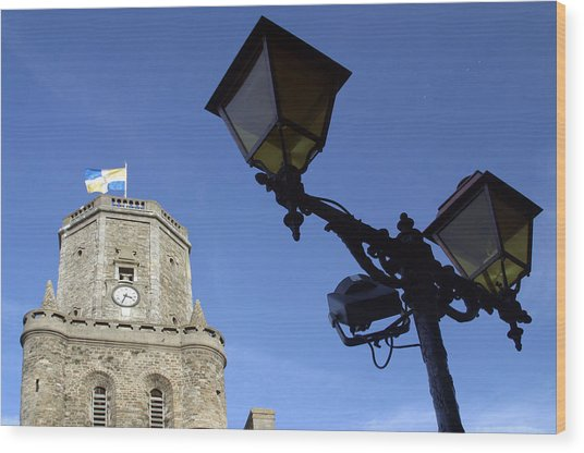 Tower Lights 2 Wood Print by Jez C Self