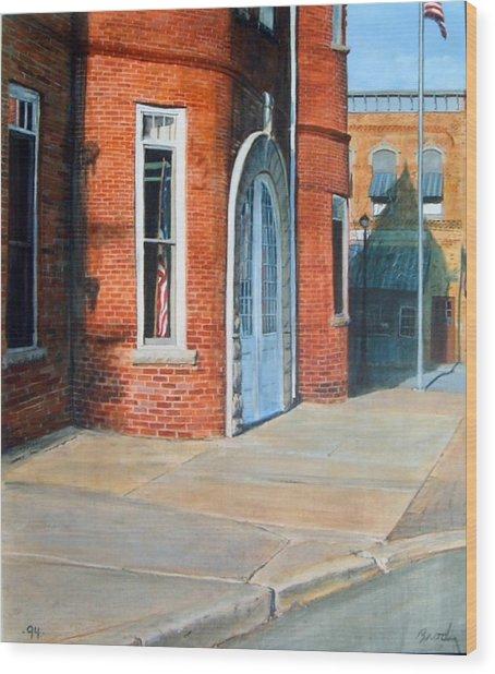 Town Hall Wood Print