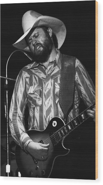 Toy Caldwell Searchin' For A Rainbow 2 Wood Print