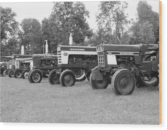 Tractor Show 2016 Wood Print