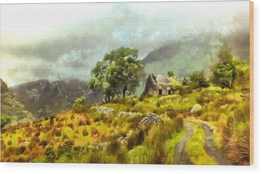 Traditional Ireland Wood Print