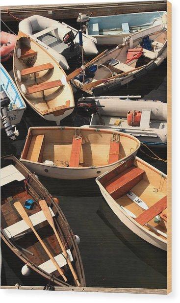 Trafic Jam Wood Print