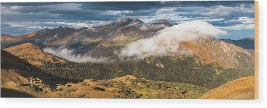 Trail Ridge Overlook Wood Print by T-S Fine Art Landscape Photography