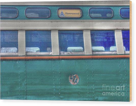 Train Series 8 Wood Print by David Bearden