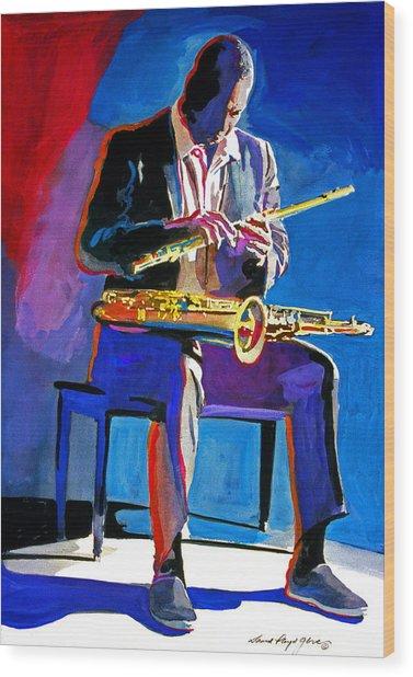 Trane - John Coltrane Wood Print
