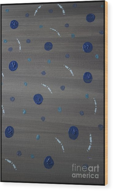 Tranquil Acrylic Abstract Wood Print