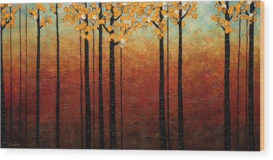 Tranquilidad Wood Print
