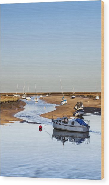 Tranquility - Wells Next The Sea Norfolk Wood Print
