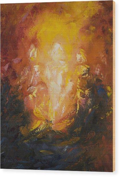 Transfiguration Wood Print