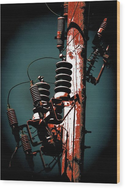 Transformers Two Wood Print