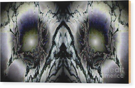 Transitional Leap Wood Print