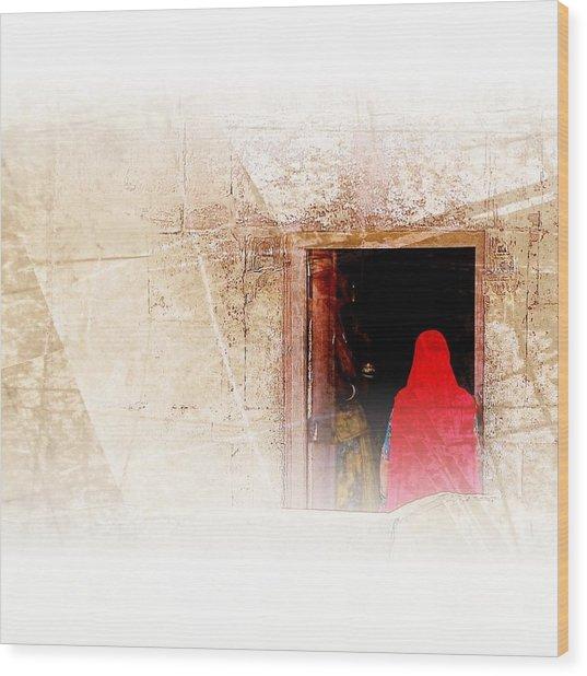 Travel Exotic Women Portrait Mehrangarh Fort India Rajasthan 1a Wood Print