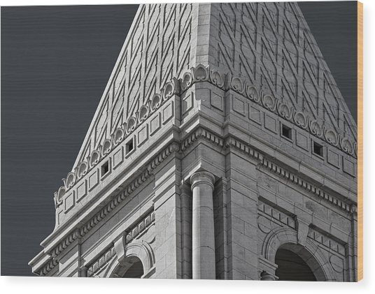 Travelers Tower Summit Wood Print