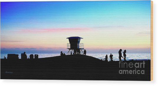 Treasure Coast Florida Sunrise Seascape Paradise 447 Wood Print