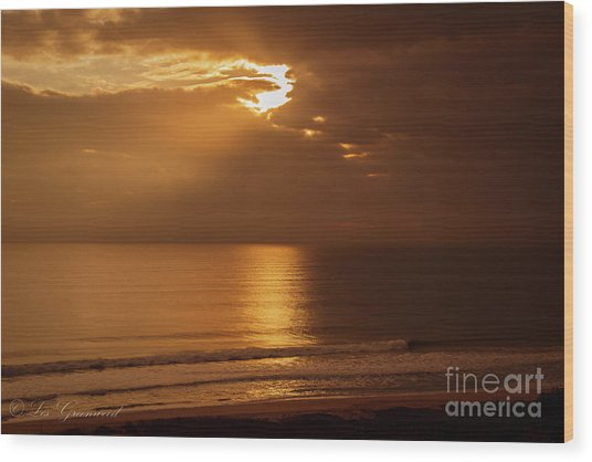 Treasure  Coast Sunrise Wood Print