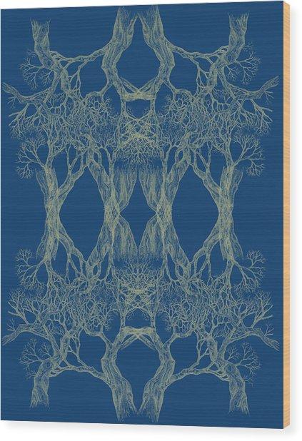 Tree 12 Hybrid 1 Bring Me Closer Wood Print