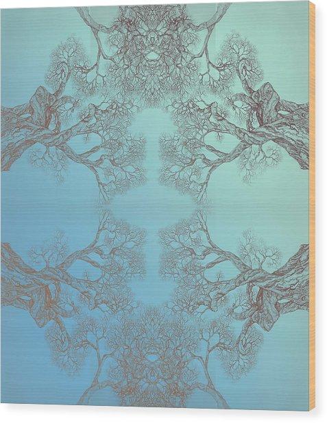 Tree 20 Hybrid 3 Wood Print