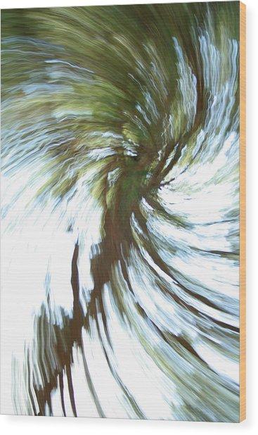 Tree Diptych 1 Wood Print