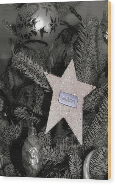 Tree Topper Wood Print by JAMART Photography