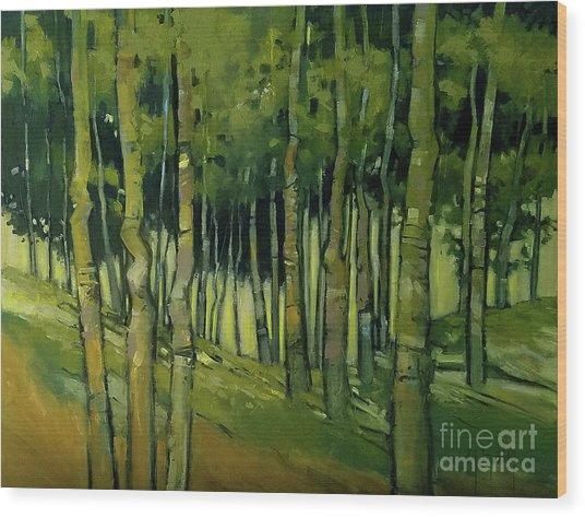 Treesong Summer Wood Print