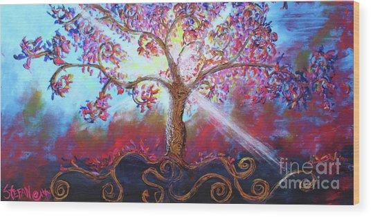 Treevelation Wood Print