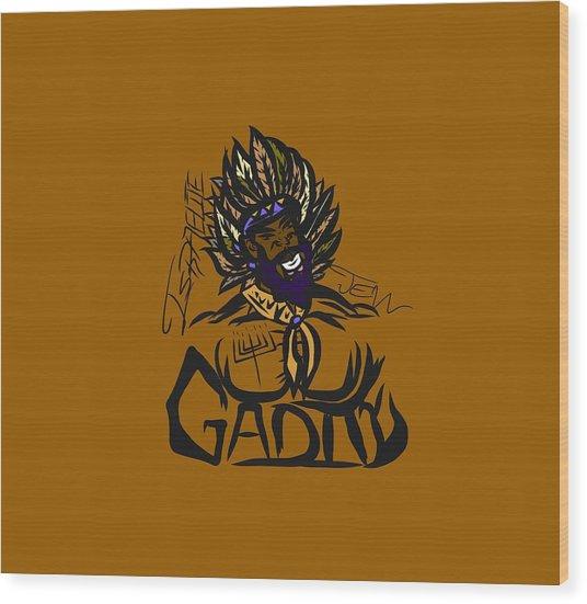 Tribe Of Gad Wood Print