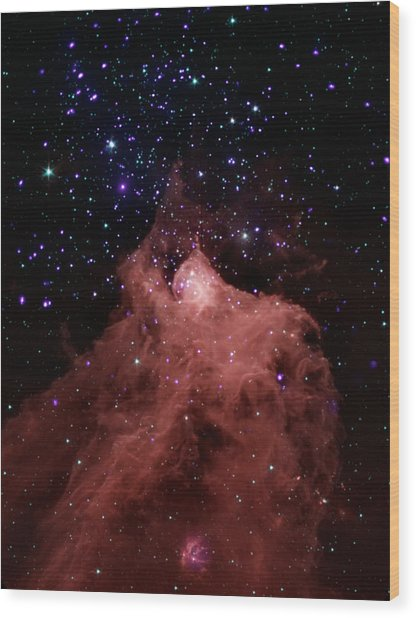 Trigger-happy Star Formation Wood Print