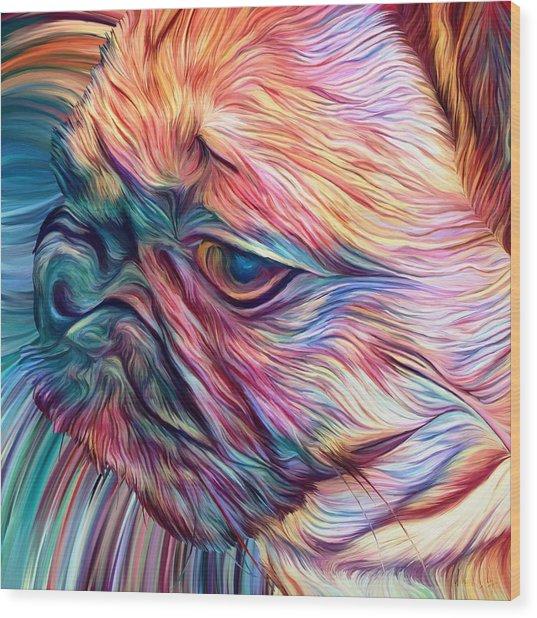 Trippy Arabella Wood Print