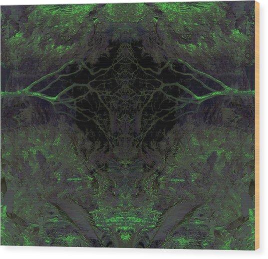 Tropical Bower Wood Print